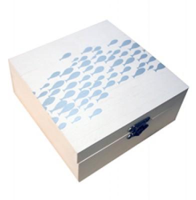 Running Fish Knick Knack Box - Large