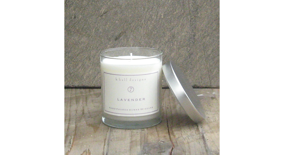 K Hall Lavender 60 Hour Candle 100 Natural Soy Candles Hk