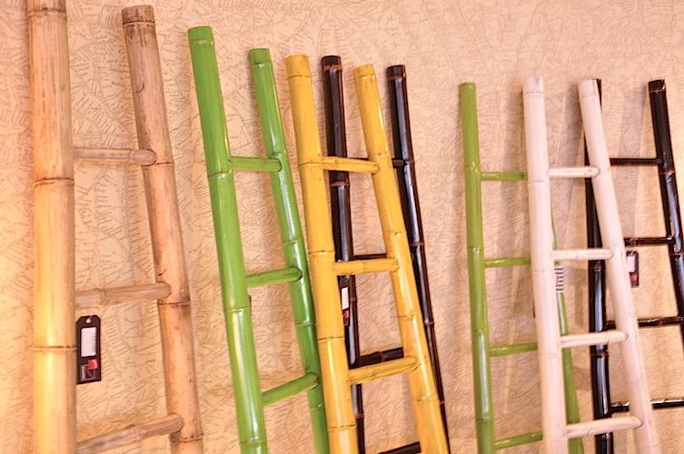 Green Bamboo Ladder Hong Kong Home Essentials Decor
