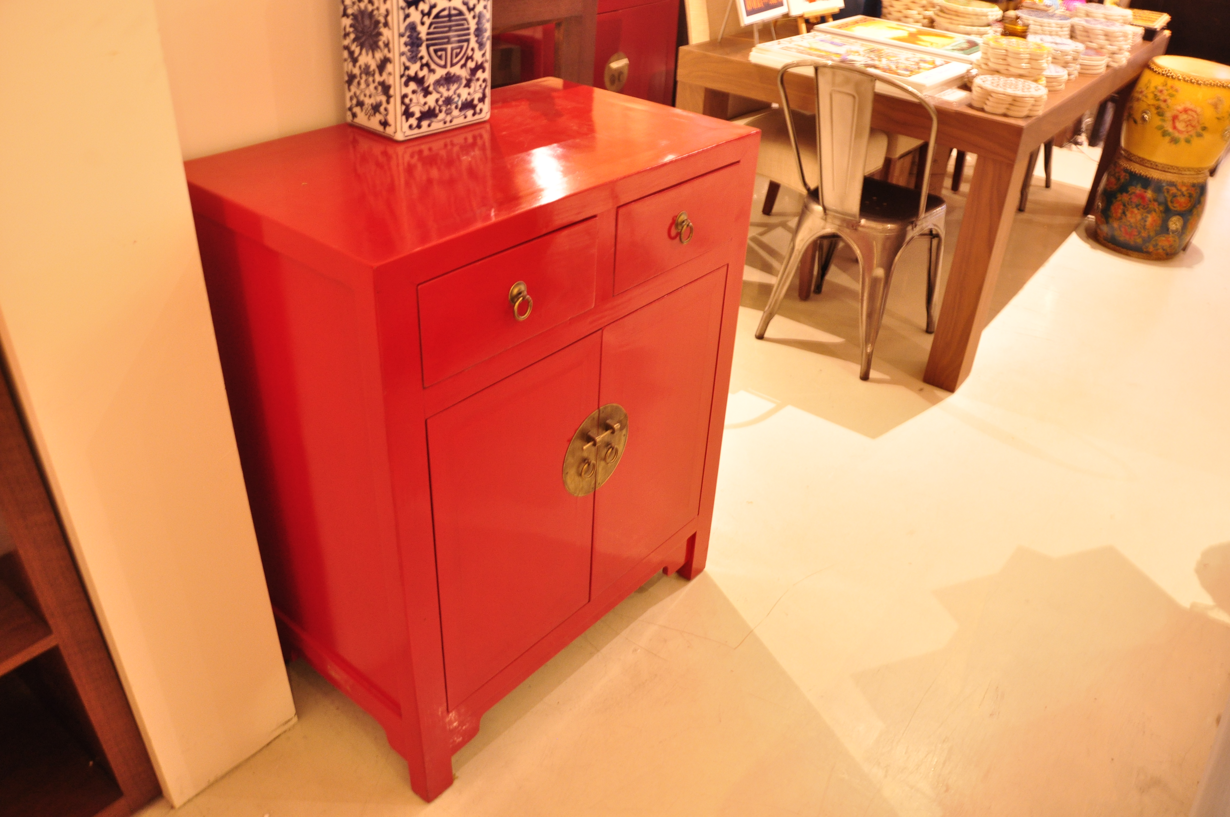 Red Cabinet Sideboards Hong Kong Home Essentials Chinese