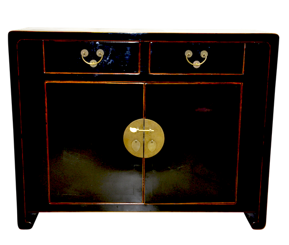 Shanghai Sideboard Black Chinese Reproduction Furniture Hong Kong Home Essentials Armoires