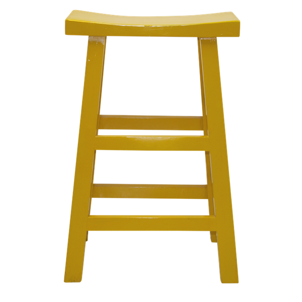 Wooden Bar Stool Yellow Chinese stool table stool bar  : yellowtallwoodenstool1p from www.homeessentials.com.hk size 624 x 624 png 169kB