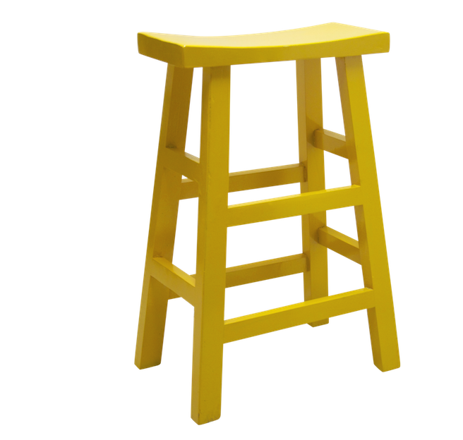 Wooden Bar Stool - Yellow | Chinese stool table stool bar stool quality Chinese reproduction furniture Hong Kong Home Essentials HK  sc 1 st  Home Essentials & Wooden Bar Stool - Yellow | Chinese stool table stool bar stool ... islam-shia.org