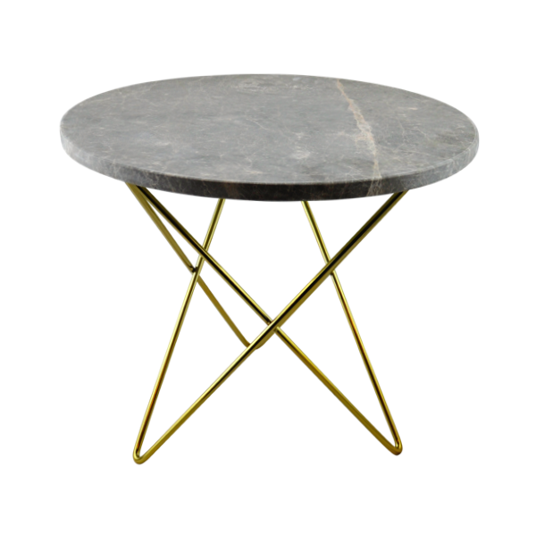 Marble Coffee Table Hk: Agosto Grey Marble Small Table